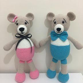 Amigurumi Ayı Teddy Tarifi (TEDDY BEAR) #bonecas