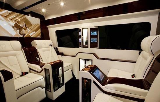 Custom Passenger Van Interior