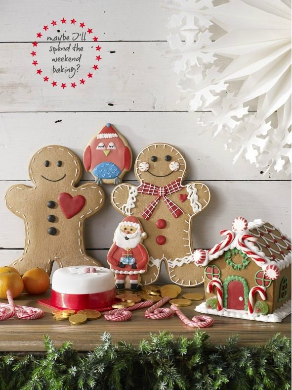 In the real world it's five weeks until Christmas. - Christmas At BHS Gingerbread Cookies Pinterest Bhs And Gingerbread