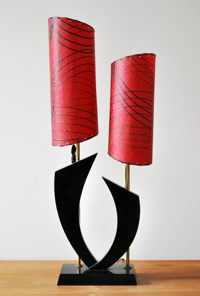 Modern Red Table Lamp