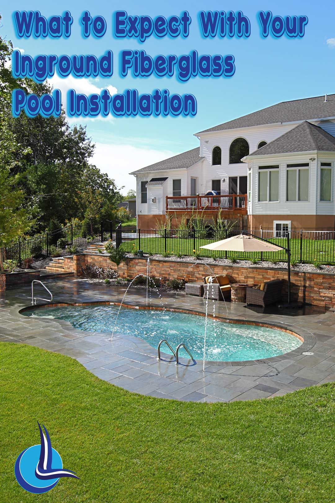 Are you planning on installing a fiberglass pool in your backyard ...