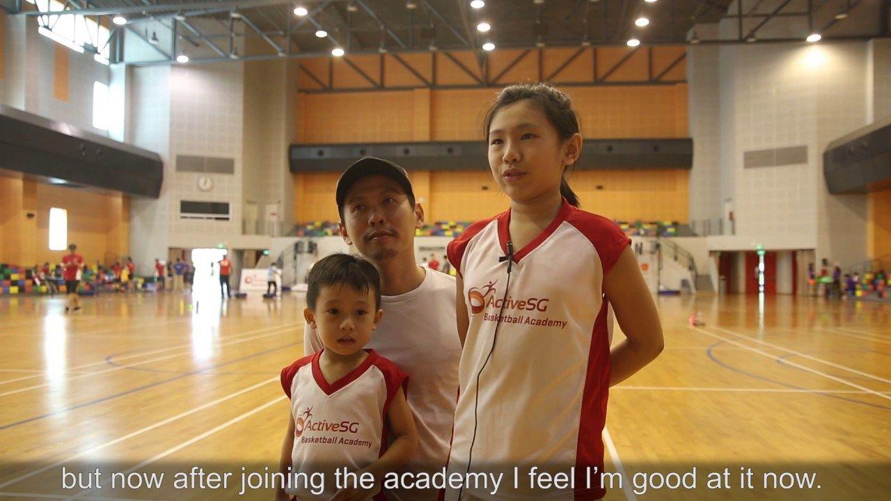 ActiveSG Basketball Academy (Promo Video) ActiveSG