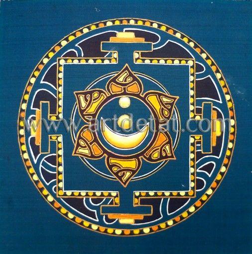 """Un Mandala es una representación simbólica y arquetípica del universo, la creación, la eternidad, el cosmos... espiritualmente están considerados como centros de energía, equilibrio, potencialidad y sanación. Muchas culturas utilizan los Mandalas como instrumento básico para la contemplación de lo divino, para la meditación y la oración, como forma de expresión del propio ser y como una forma superior de arte.  Del libro """"Los Chakras – Mandalas de energía"""" Autora Tat Estrada. Edit. mtm"""