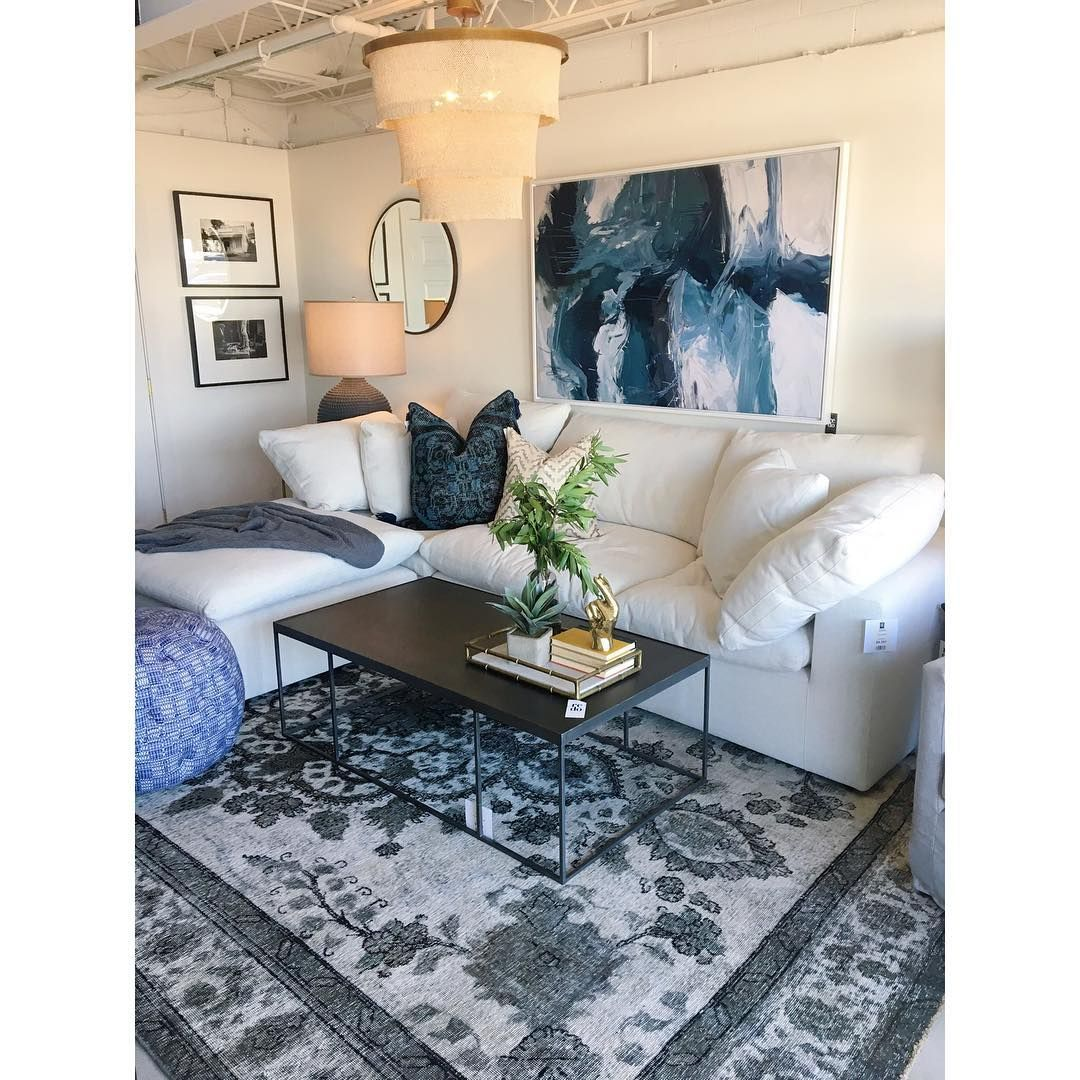 Our lovely lobby at redo home and design modernfurniture nashville cloudsofa sectionalsofa