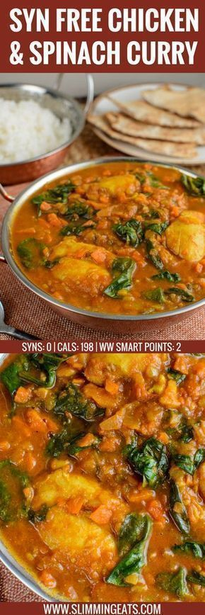 #wwwslimmingeatscom #delicious #slimming #watchers #calories #friendly #watchers #chicken #spinach #...