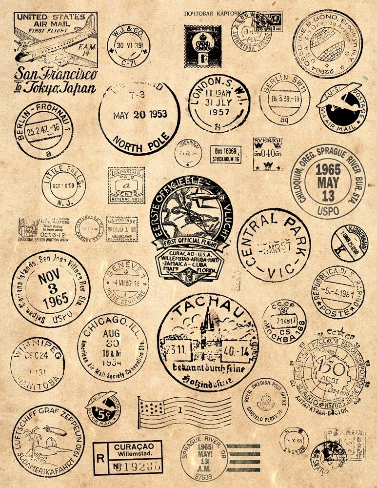 Account Suspended Vintage Postage Vintage Stamps Clip Art Vintage