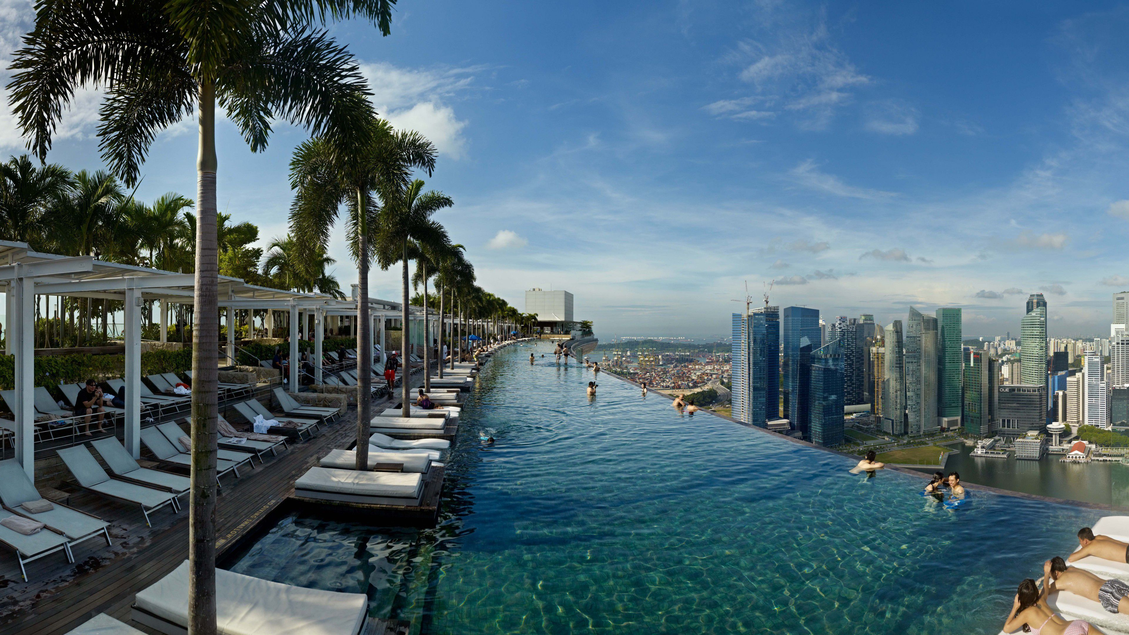 Wallpaper Marina Bay Sands Infinity Pool Pool Hotel Travel Sands Hotel Sands Singapore Stay In Singapore