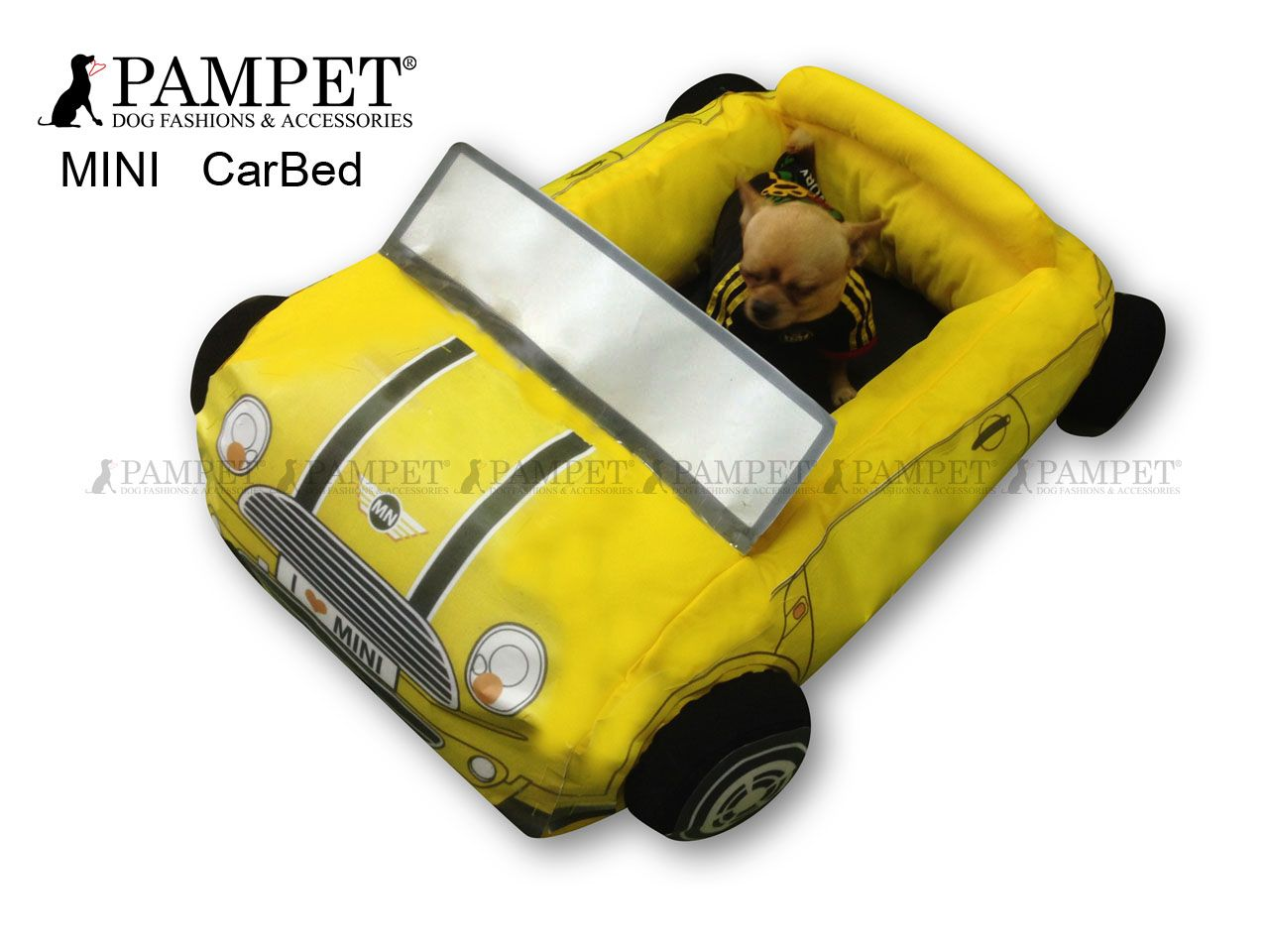 Mini Cooper Dog Bed From Pampet Mini Cooper Pinterest