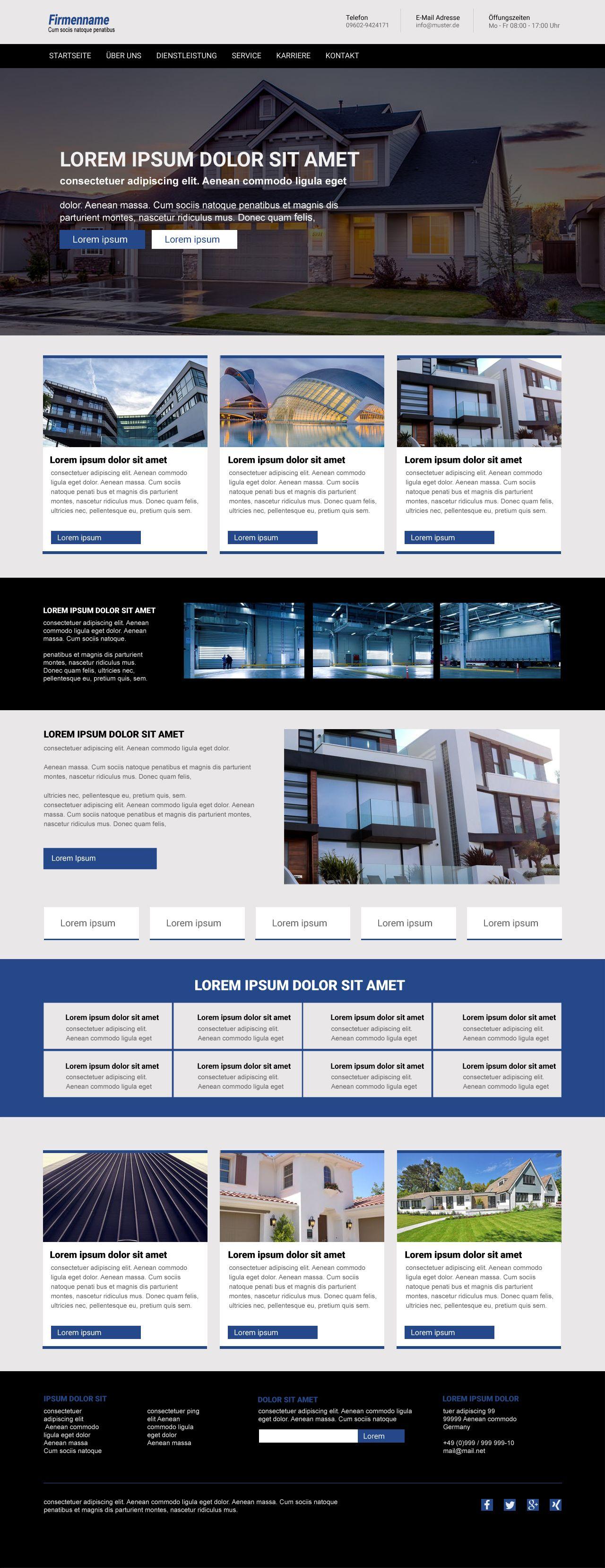 Typo3 Template | #Bootstrap | Responsive Vorlage | web design ideas ...