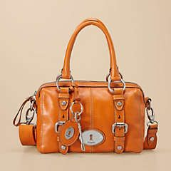 Cool Orange Fossil Purse