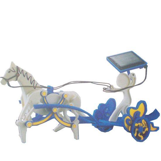 se-4452017 Solar energy DIY horse-drawn carriage (3 in 1)