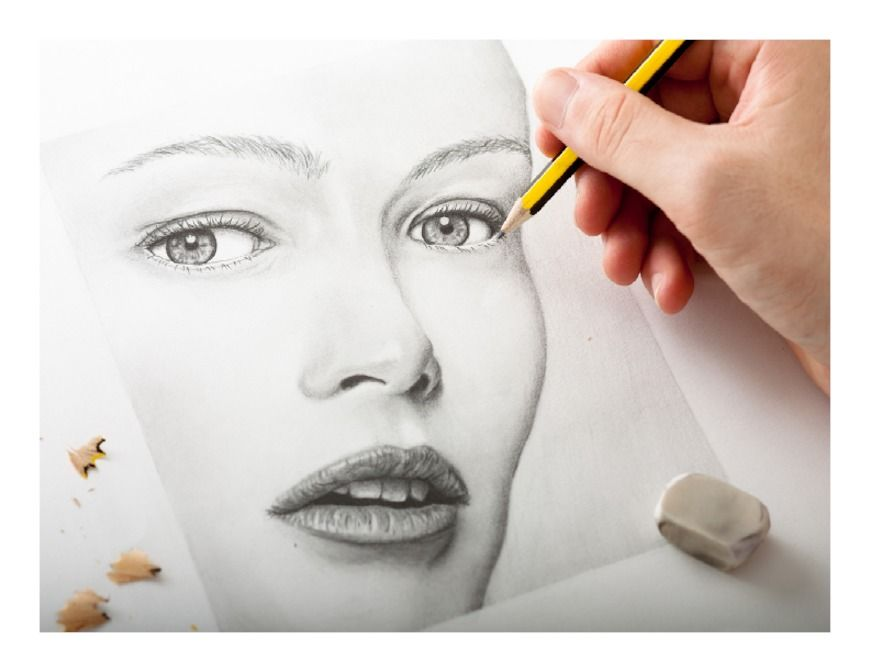 Drawing for beginners learn to draw faces pencil drawings for