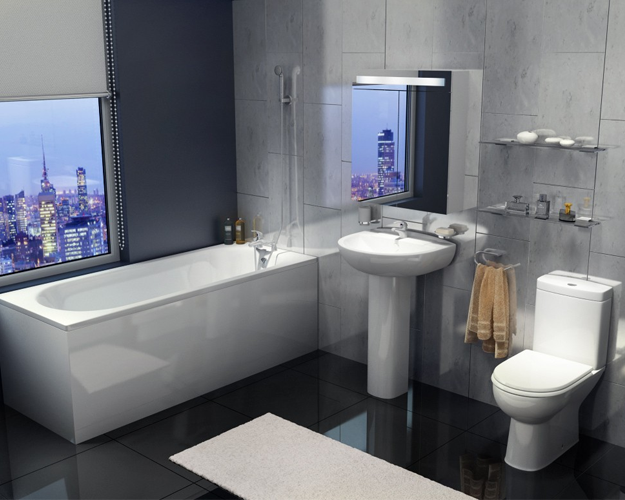 Tavistock Micra Space Saving Bathroom Suite Cheap Bathroom Suites Bathroom Suites Uk Modern Bathroom Design