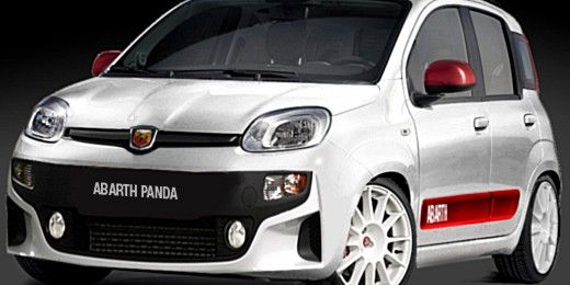 This Is An Impression Of What A Fiat Panda Abarth Could Look Like