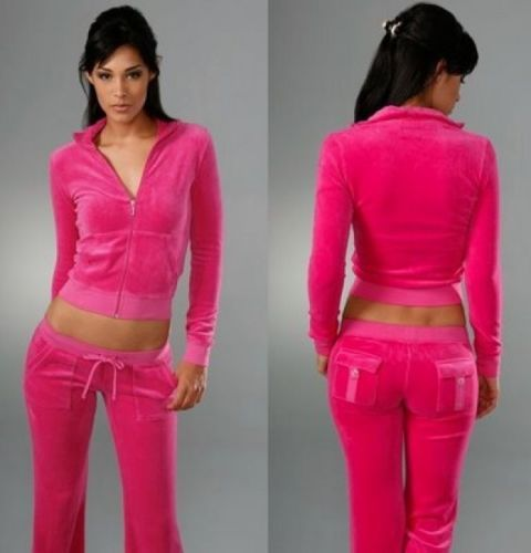 Details About New Women Velour Hoodie Tracking Suit Sweater Pants Set Sports Yoga Gym Set Juicy Couture Tracksuit Sportswear Women Tracksuit
