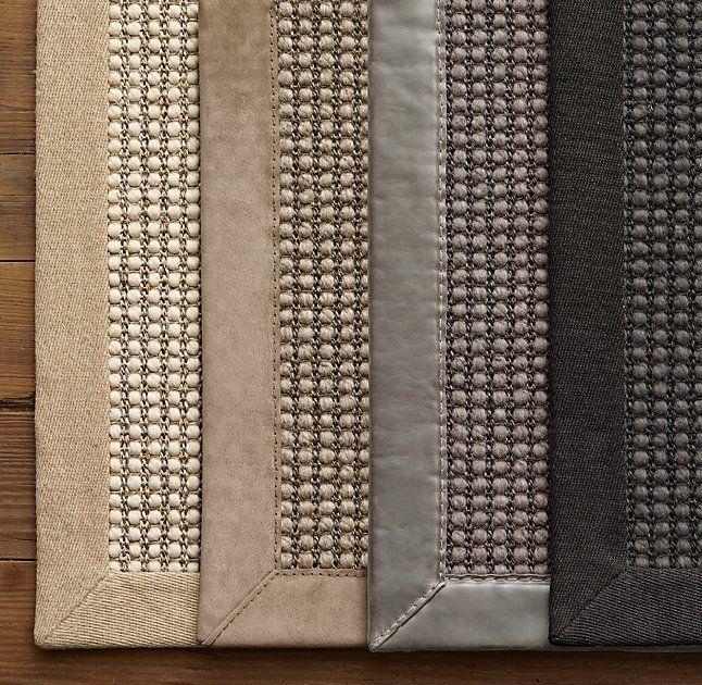 Custom Belgian Looped Wool Sisal Rug Outdoor Furniture Landscape