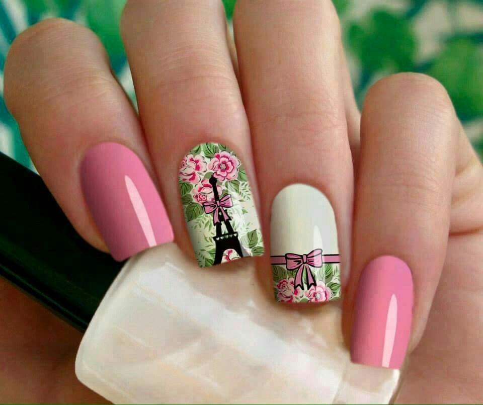 Do you love nail art? - Pin By Nancy Lawson On Manicures Pinterest Paris Nails, Eiffel