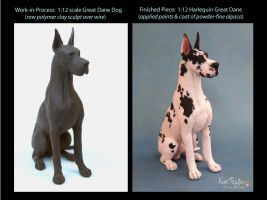 Before After Harli Dane Sculpture By Pajutee Dog Sculpture