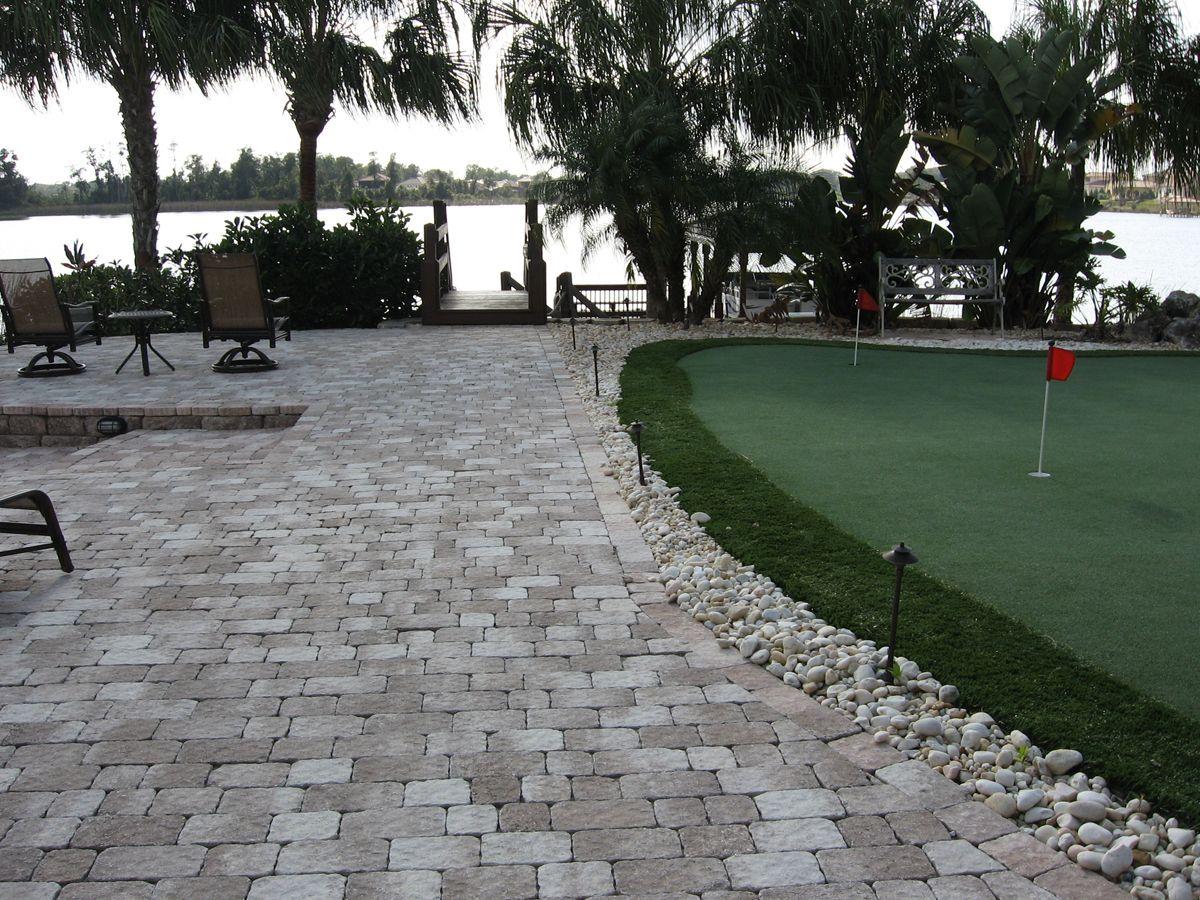 Covered Paved Patios   ... Pool Builders Daytona Beach » Brick Paver