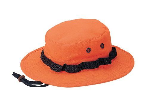 80f5d36c58ee3 Blaze Orange Deer Hunting Hiking Outdoors Bucket Hat XS  13.95