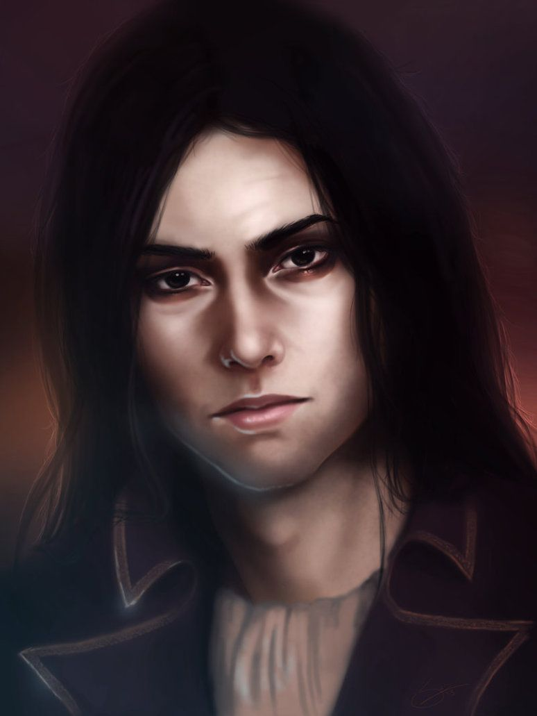 - Male Portrait Commission - by Anathematixs on DeviantArt