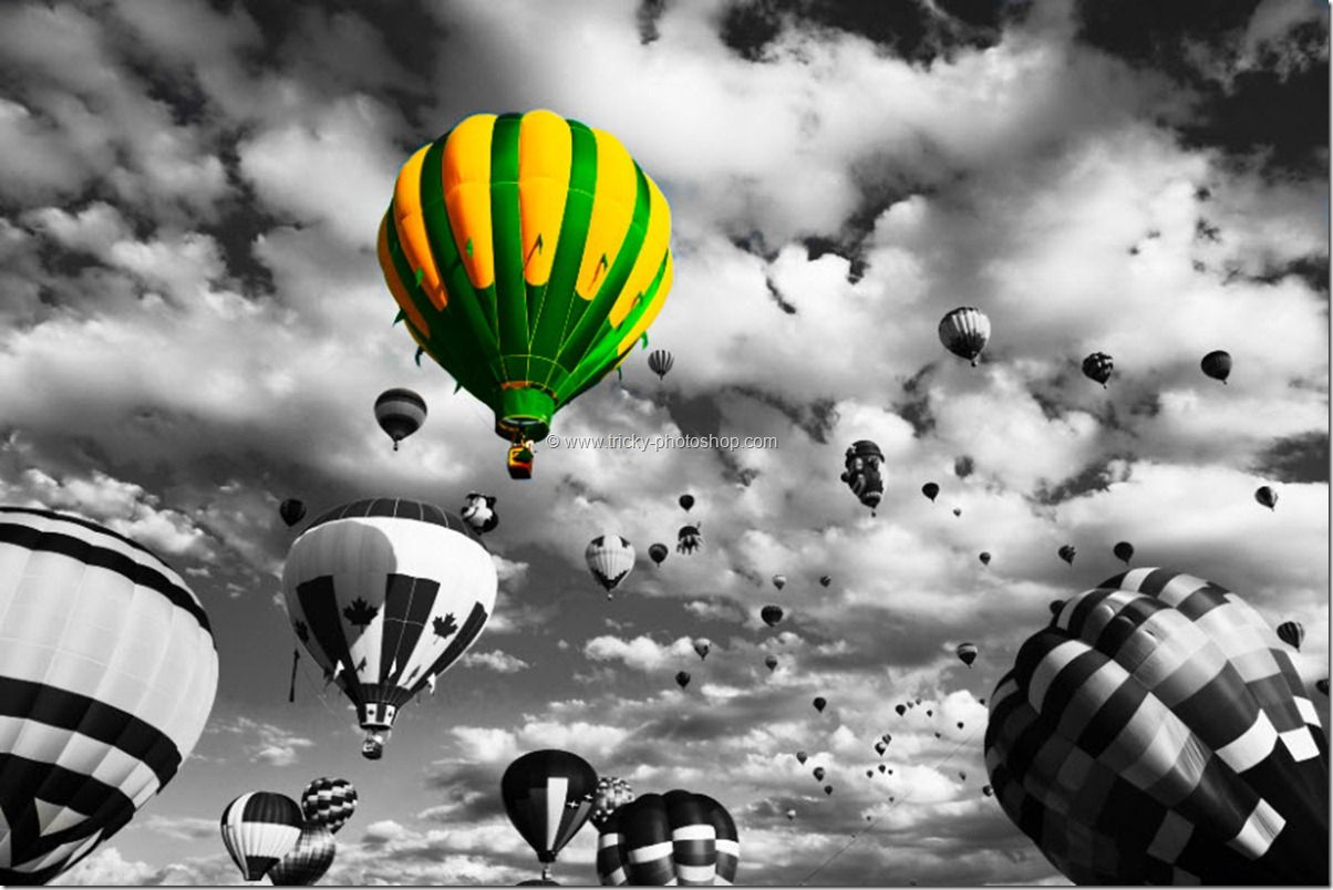 Black and White Photos with Color Photoshop   Partial ...