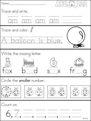Worksheets Kindergarten Morning Worksheets 1000 images about kindergarden worksheets on pinterest number kindergarten morning work and worksheets