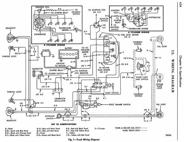 54 Ford Club Of America Forum View Topic Ignition Switch Wiring Electrical Wiring Diagram Ford Truck Diagram
