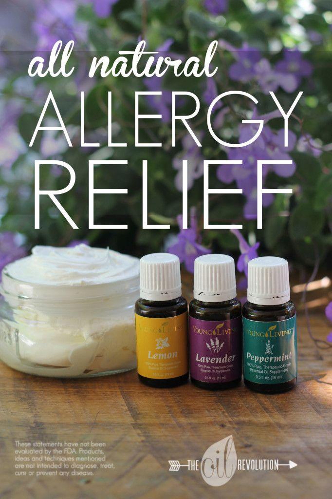 Allergy Cream Recipe Using Essential Oils Essential Oils