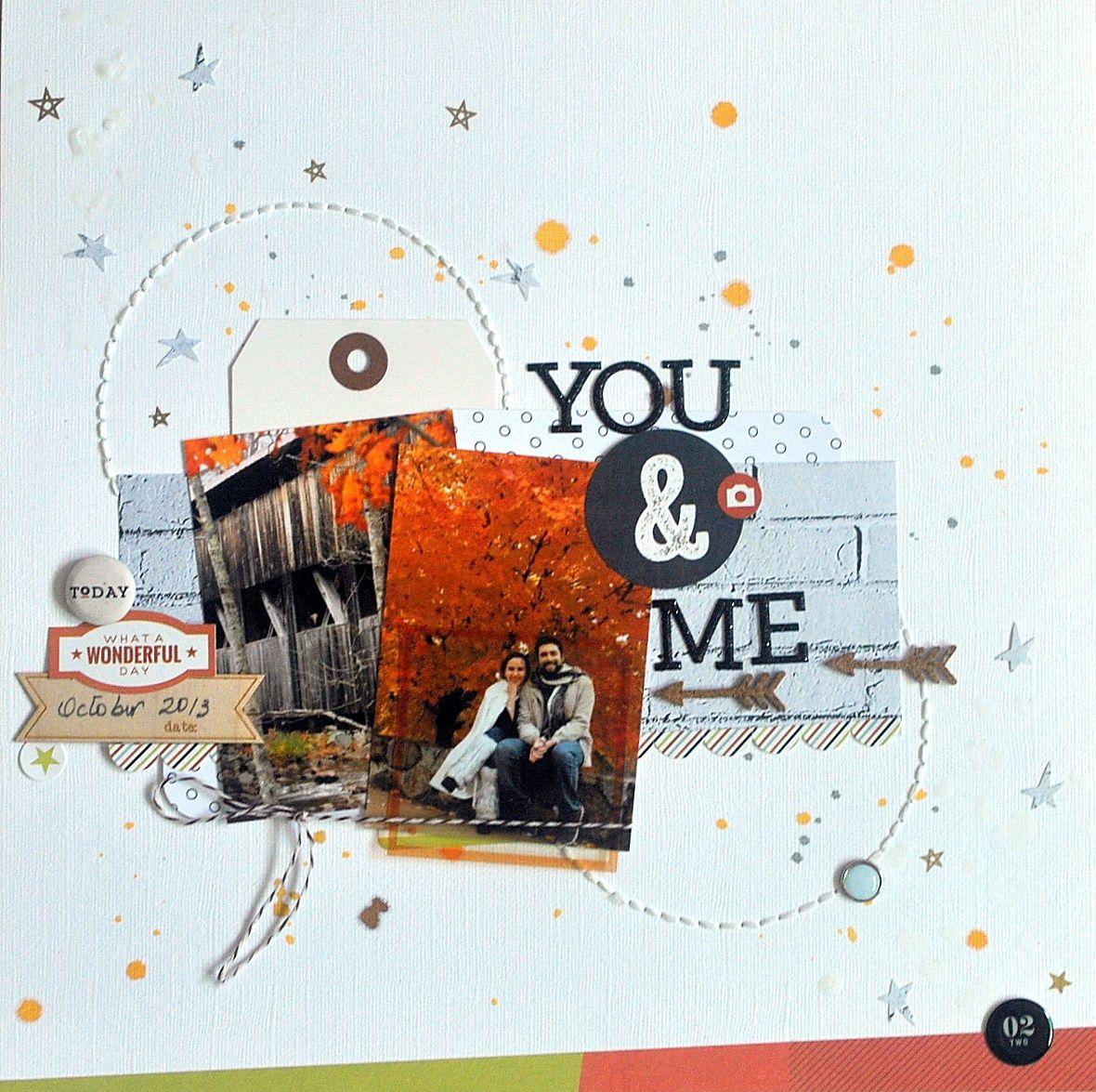 YOU & ME - Scrapbook.com