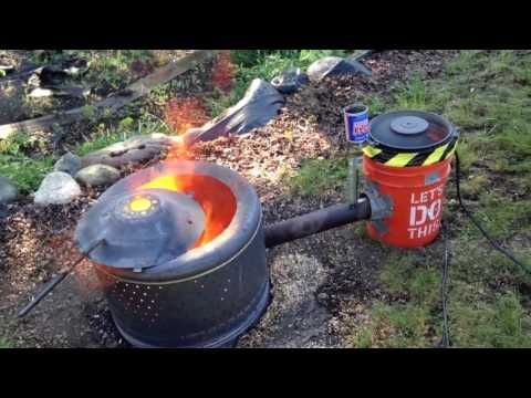 How To Build A Homemade Diy Waste Oil Tree Stump Burner