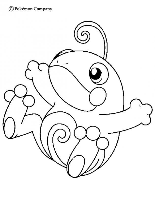 Politoed Pokemon Coloring Page More Water Pages On Hellokids