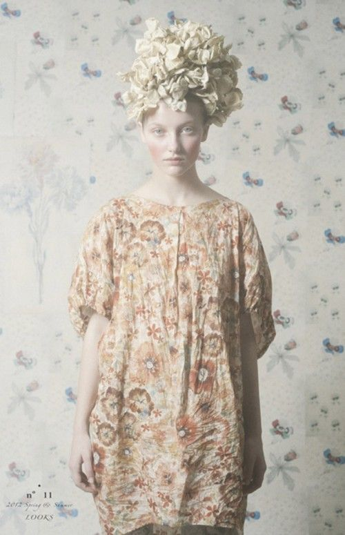 n°11 S/S 2012. Whimsical. And slightly unnerving for some reason.