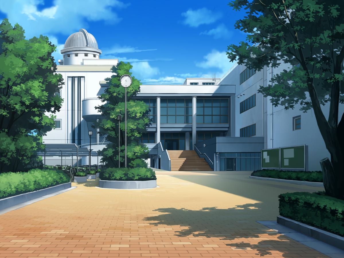 Anime landscape google zoeken anime house pinterest for Wallpaper live home