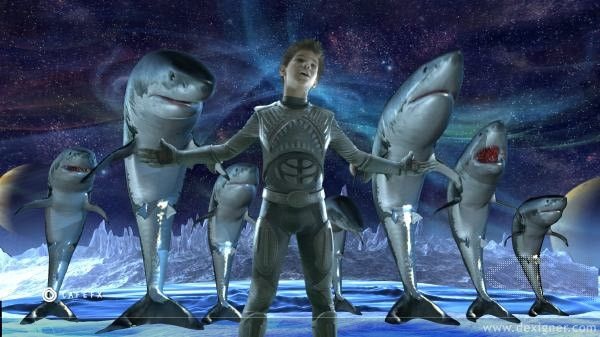 And To Your Left We Have Taylor Lautner As Shark Boy