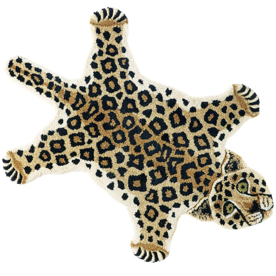 Leopard Rug By Doing Goods For