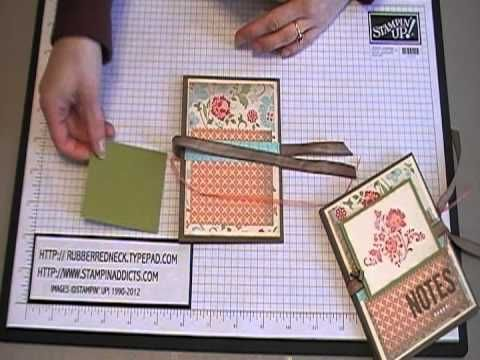 Holly's sStationery holder tutorial