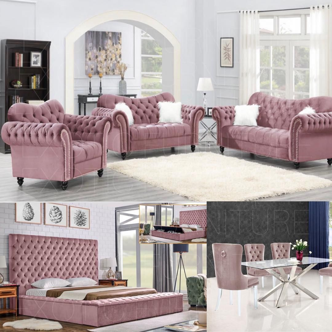 Exotic Furniture On Instagram All Pink If You Love This Setup