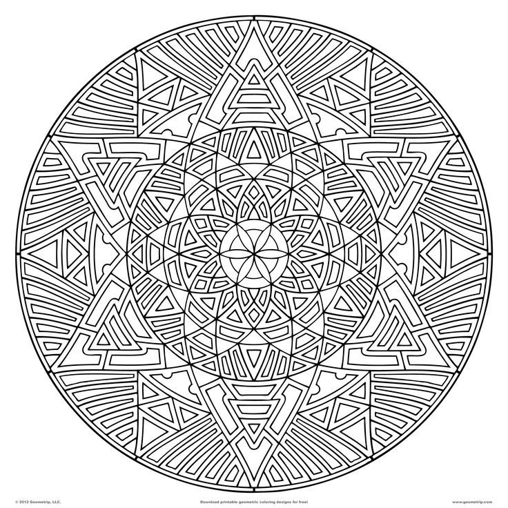Pin de Barbara en coloring mandala | Pinterest
