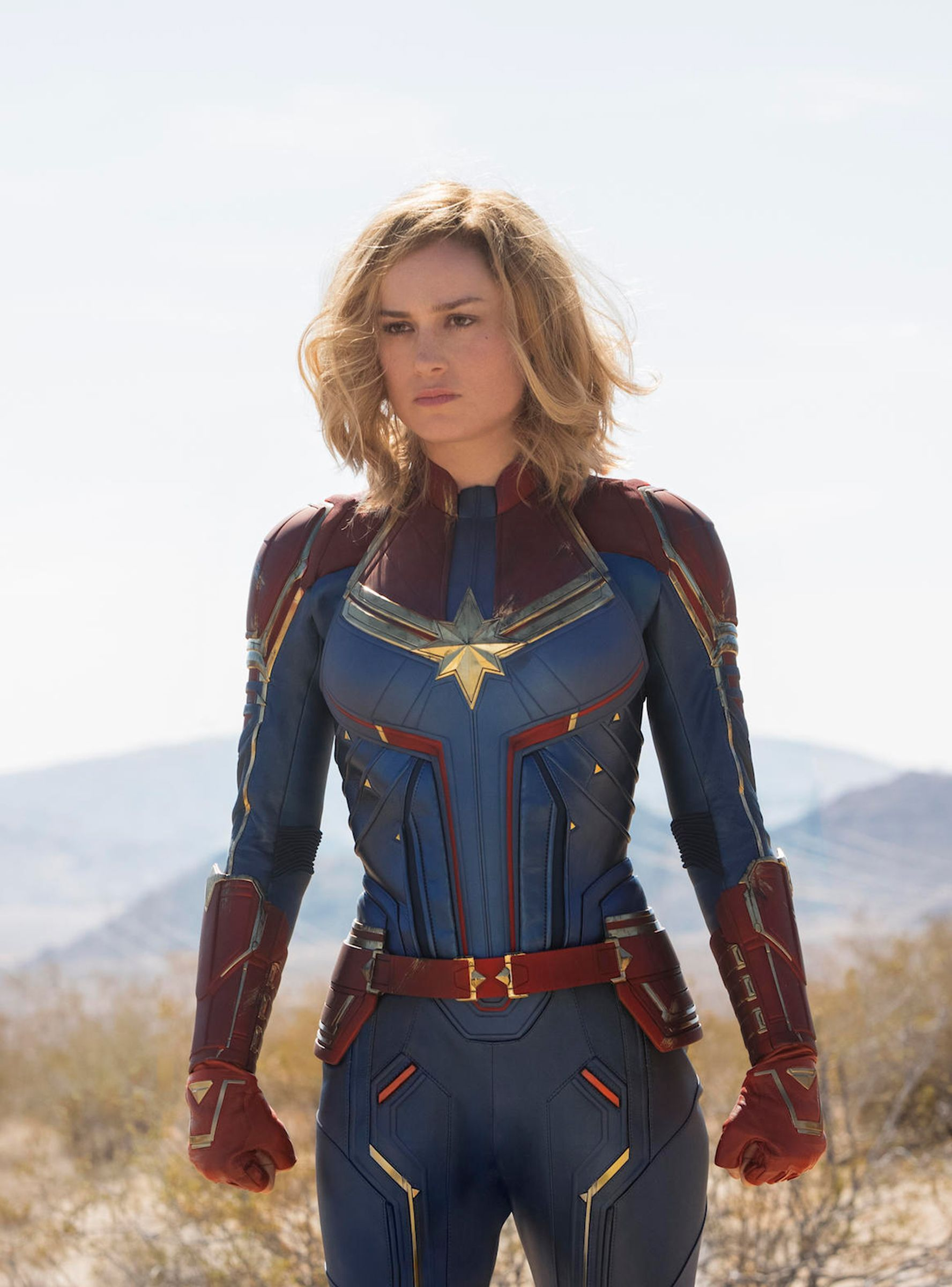Is Captain Marvel Actually In Avengers Endgame Style Stars