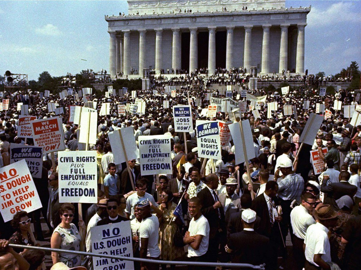 Here S The Real Story Behind Martin Luther King Jr S Greatest Moment Mlk March On Washington Teaching Black History Black History