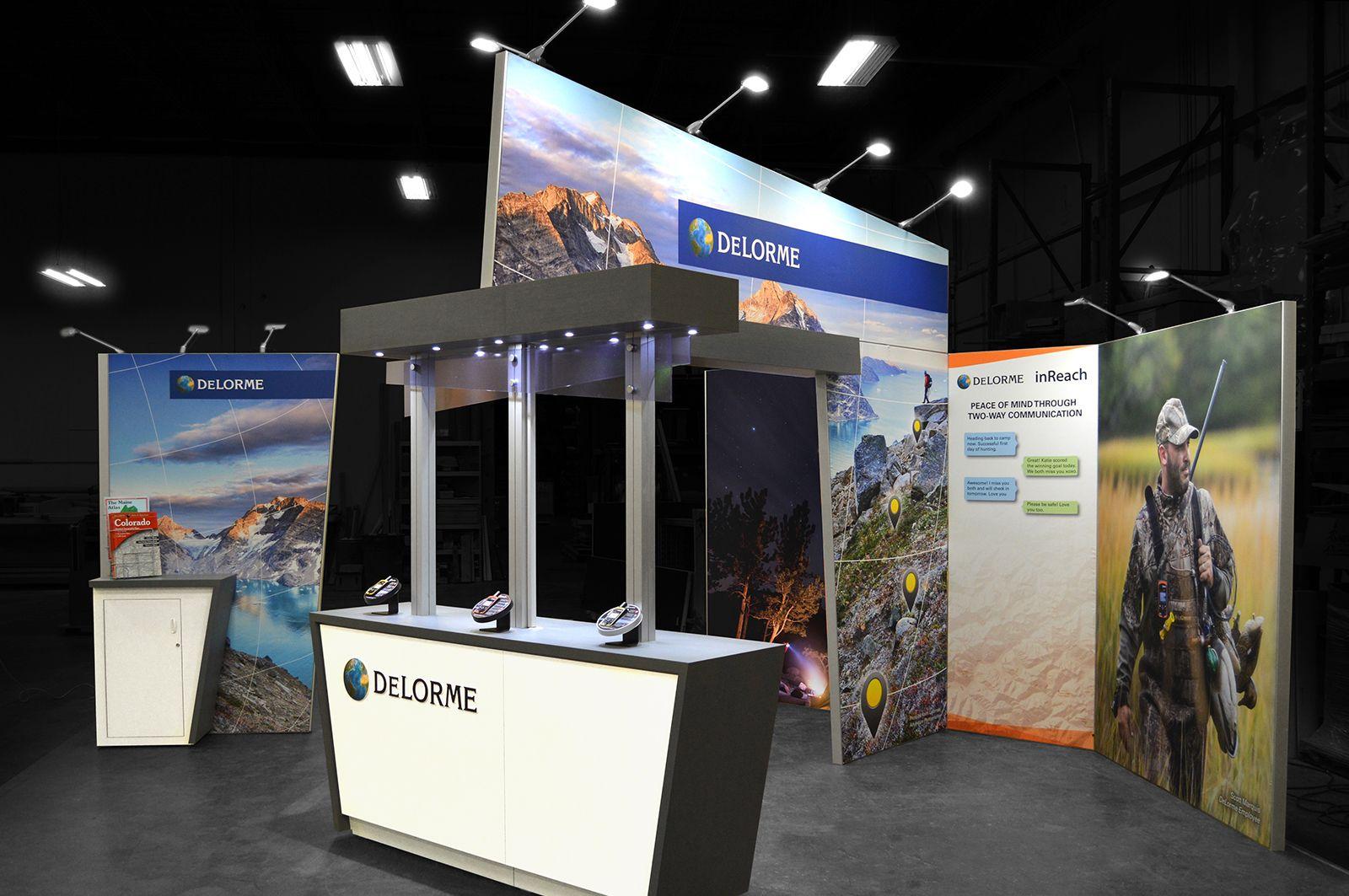 Peninsula Exhibit Navigation Technology Exhibition Trade Show Exhibit Design