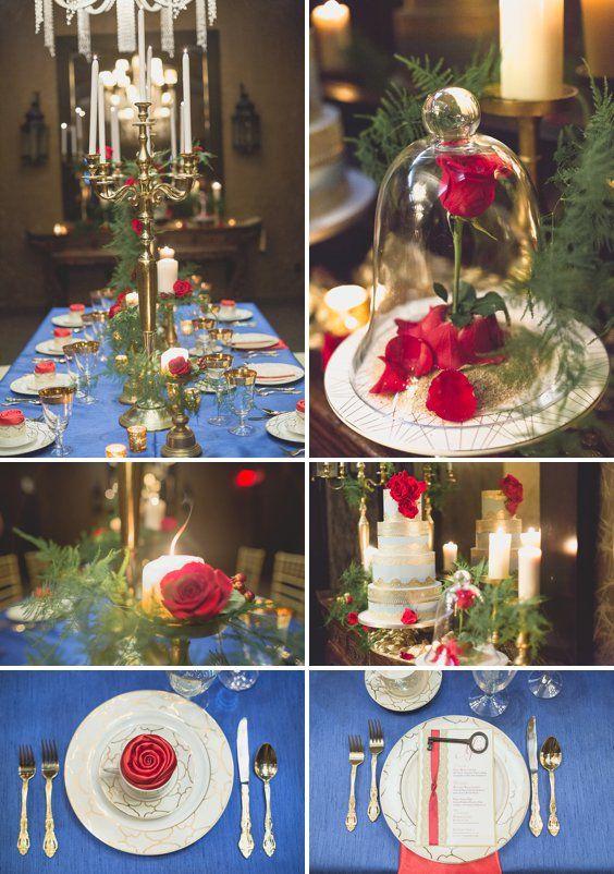 Beauty and the Beast Wedding Inspiration - A PRINCESS ...