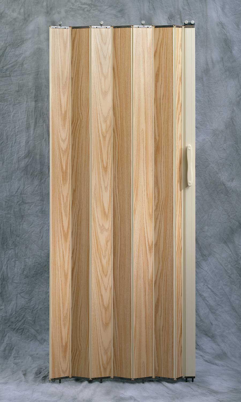 Puerta de cabina tipo acorde n enchapada en madera de - Puertas acordeon madera ...
