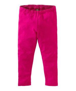 Hot Pink Leggings - Infant, Toddler & Girls by Tea #zulily #zulilyfinds