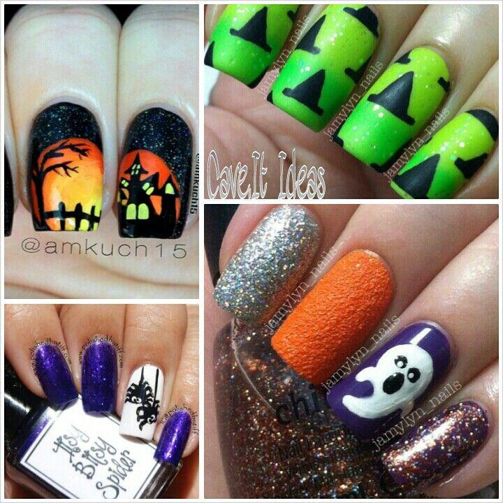 Halloween ideas | Halloween nails, Creative nails ...