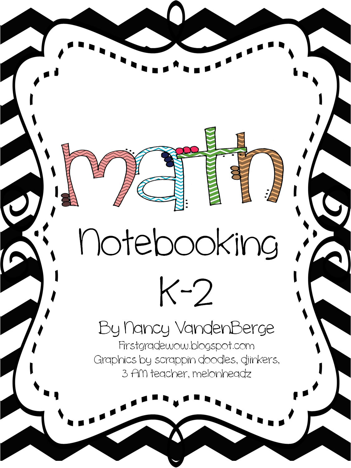 Math Notebooking K 2 Free From First Grade Wow