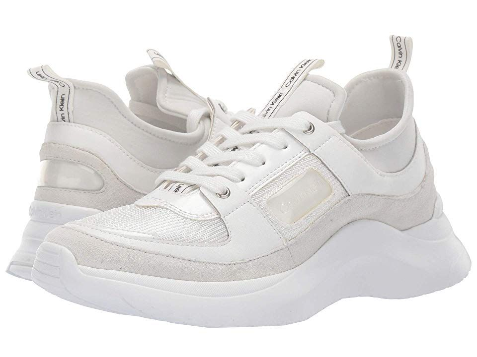 3a9cd268bc Calvin Klein Ultra Women's Shoes White Neoprene/Mesh | Products in ...