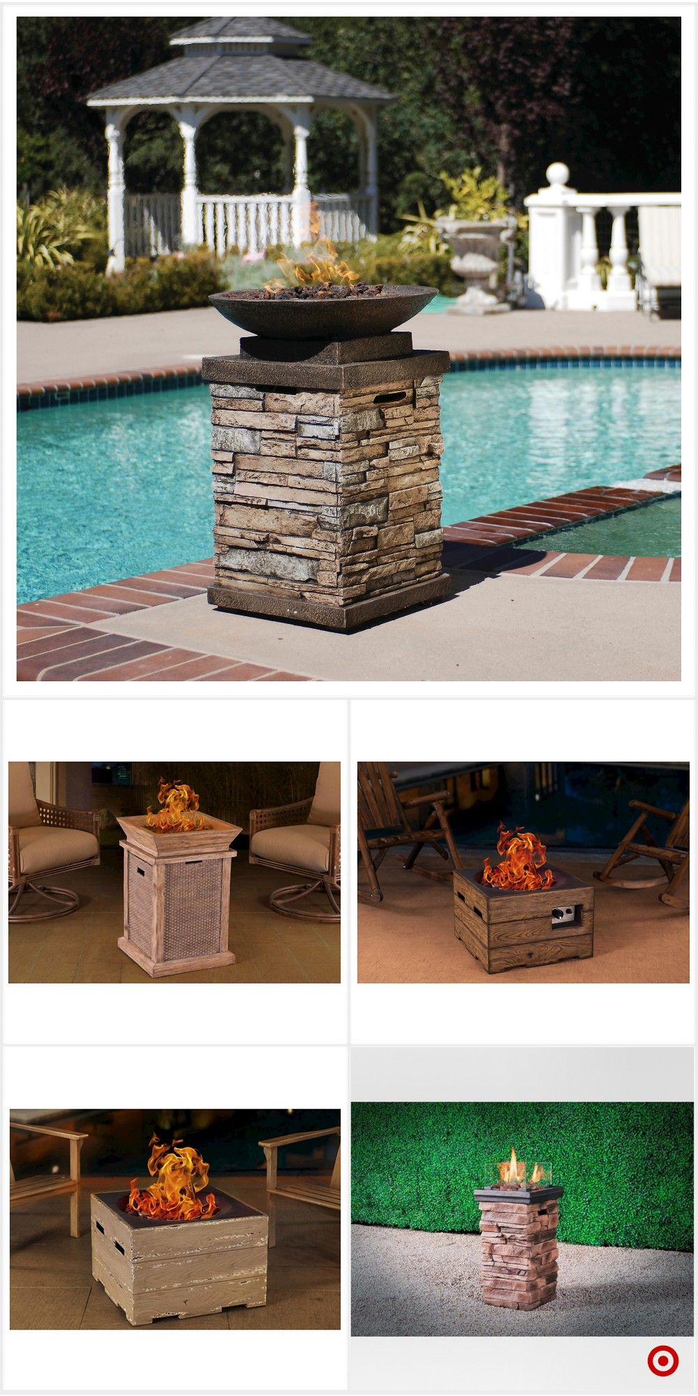 Shop Target for fire columns you will love at great low ... on Target Outdoor Living id=38270