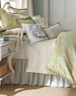 511z French Laundry Home King Fl Duvet Cover 108 X 98 Queen 96 Seerer Stripe Dust Skirt